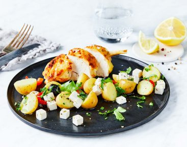 Kylling-med-kartoffelsalat