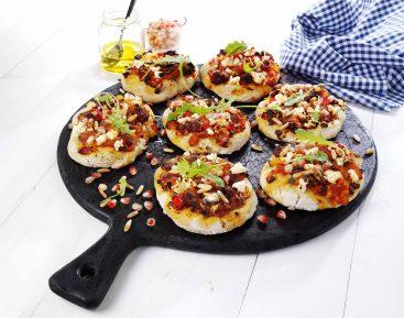 Libanesiske-minipizzaer